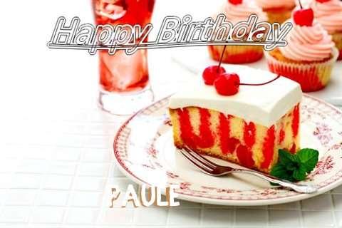 Happy Birthday Paule