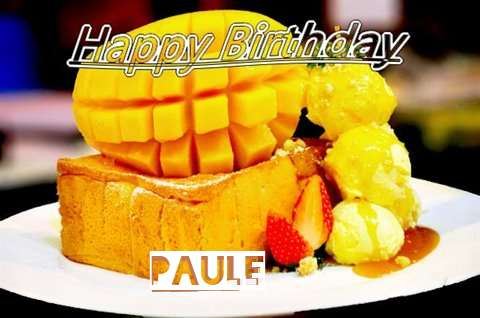 Birthday Wishes with Images of Paule