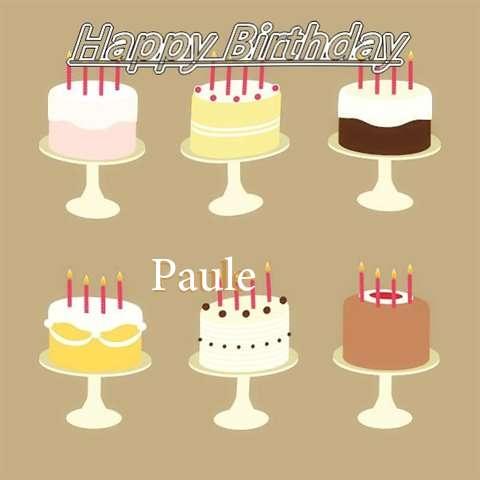 Paule Birthday Celebration