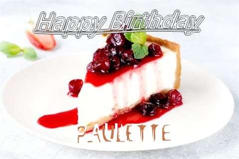 Happy Birthday to You Paulette