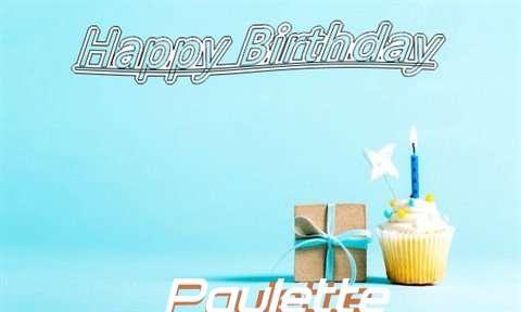 Happy Birthday Cake for Paulette