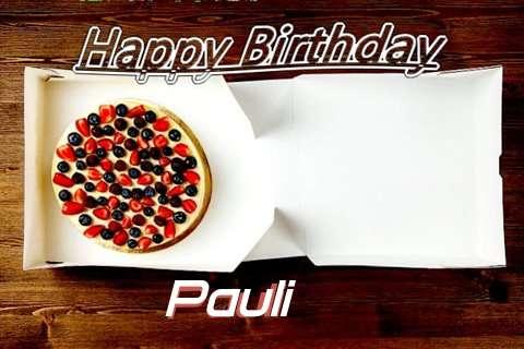 Happy Birthday Pauli