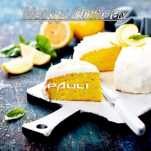 Pauli Birthday Celebration