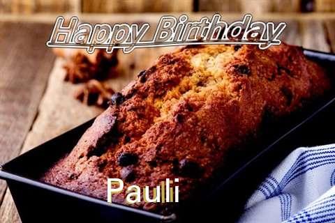 Happy Birthday Wishes for Pauli