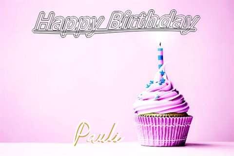 Happy Birthday to You Pauli