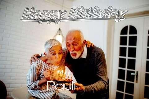 Wish Pauli