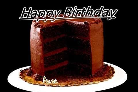 Happy Birthday Pavan Cake Image