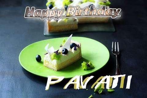 Pavati Birthday Celebration