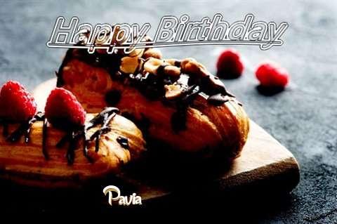 Happy Birthday Pavia