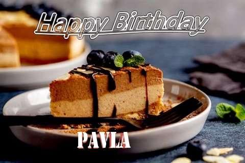 Happy Birthday Pavla Cake Image