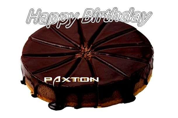 Paxton Birthday Celebration
