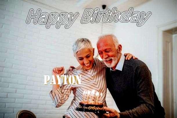 Payton Birthday Celebration
