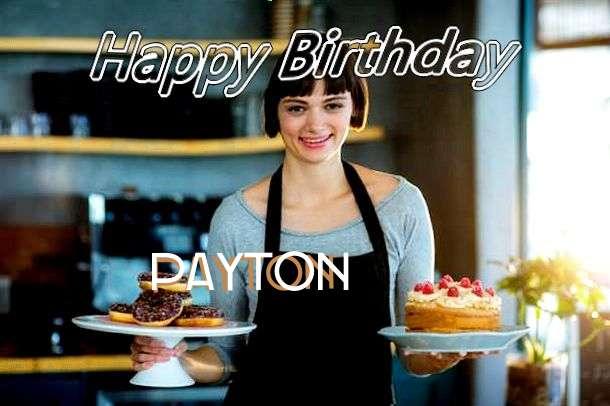 Happy Birthday Wishes for Payton