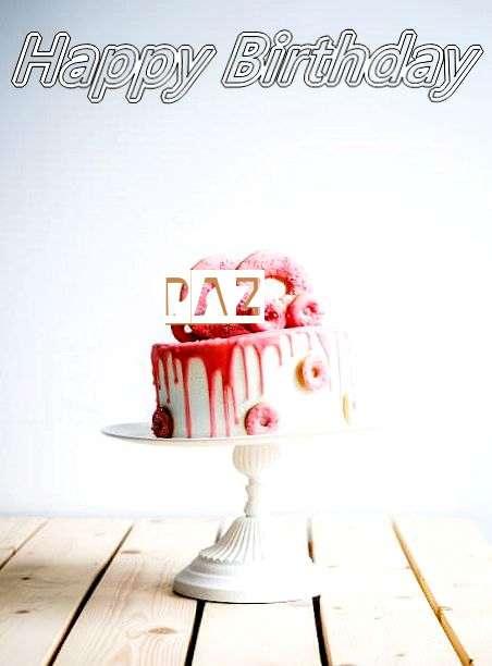 Happy Birthday Paz