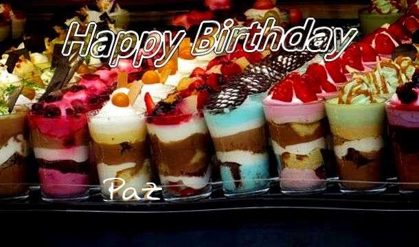 Paz Birthday Celebration