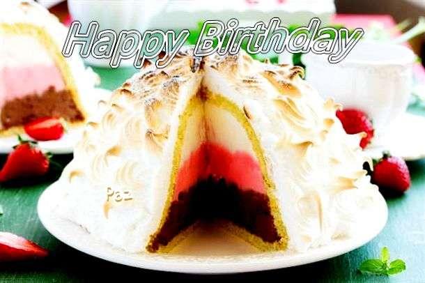 Happy Birthday to You Paz