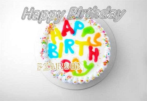 Happy Birthday Pearson