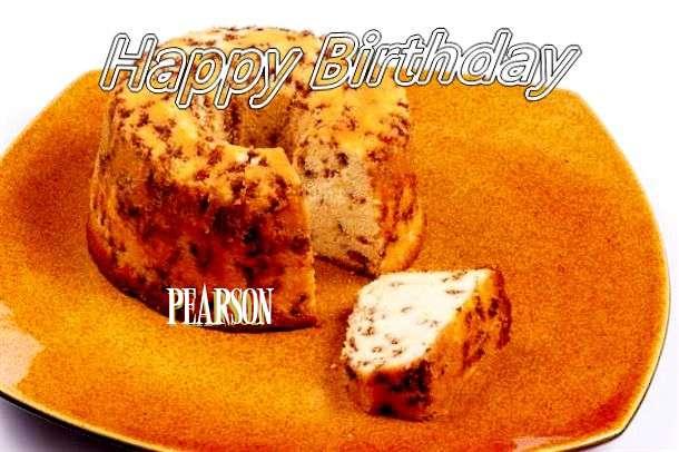 Happy Birthday Cake for Pearson
