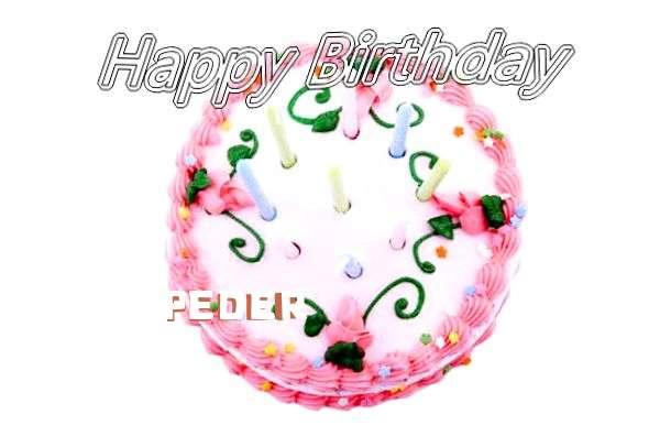 Happy Birthday Cake for Peder