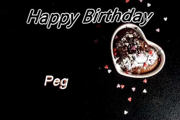 Happy Birthday Peg