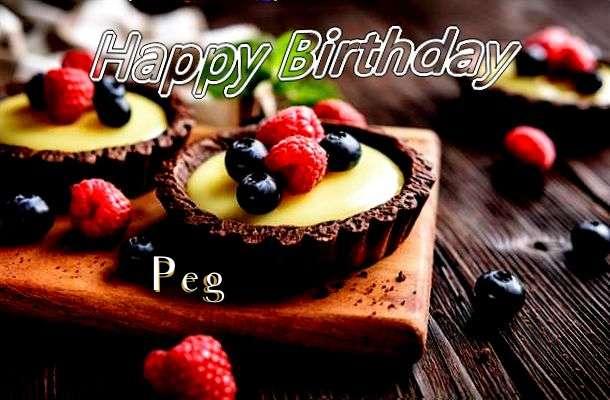 Happy Birthday to You Peg