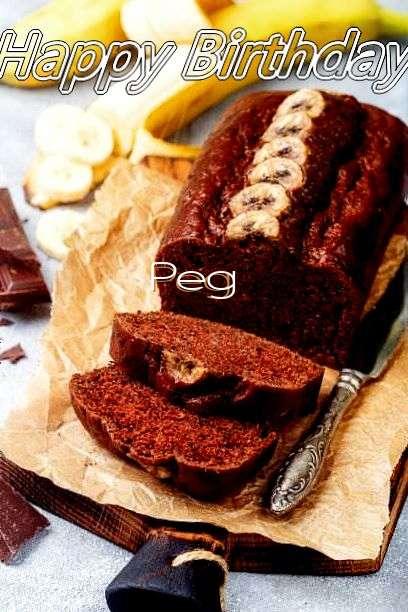 Happy Birthday Cake for Peg