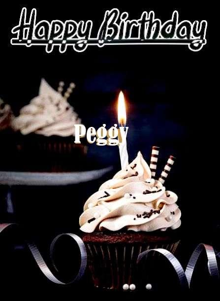 Happy Birthday Cake for Peggy