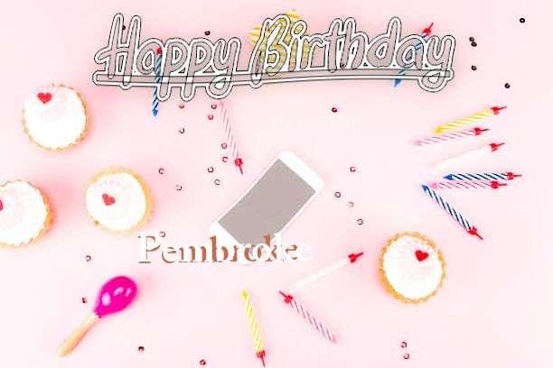 Happy Birthday Pembroke