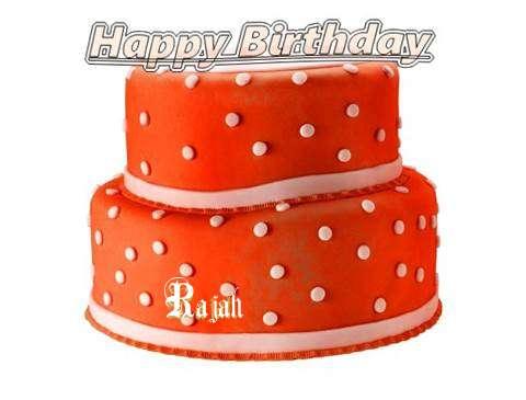Happy Birthday Cake for Rajah