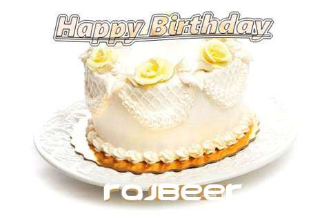 Happy Birthday Cake for Rajbeer