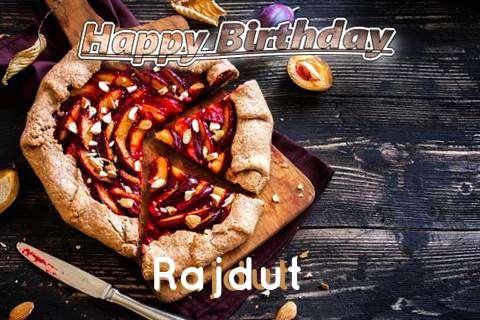 Happy Birthday Rajdut Cake Image