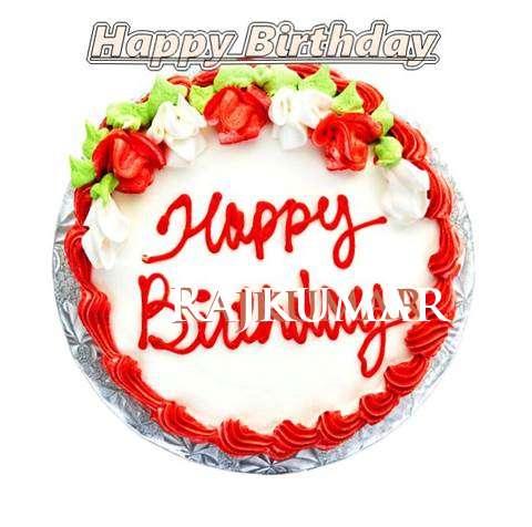 Happy Birthday Cake for Rajkumar
