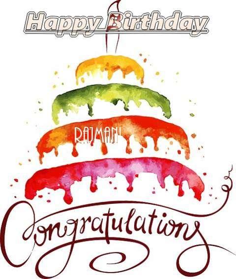 Birthday Images for Rajmani