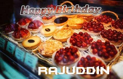 Happy Birthday Cake for Rajuddin