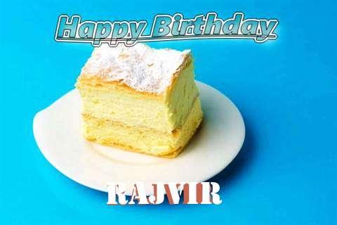Happy Birthday Rajvir Cake Image