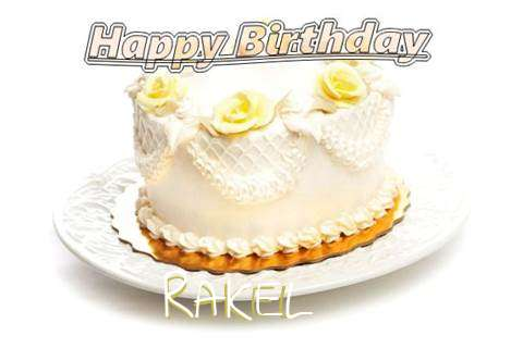 Happy Birthday Cake for Rakel