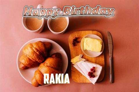 Happy Birthday Wishes for Rakia