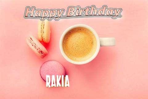 Happy Birthday to You Rakia