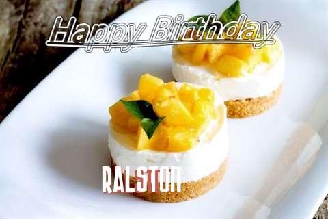 Happy Birthday to You Ralston