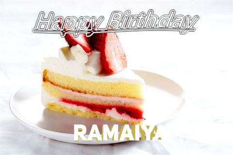 Happy Birthday Ramaiya