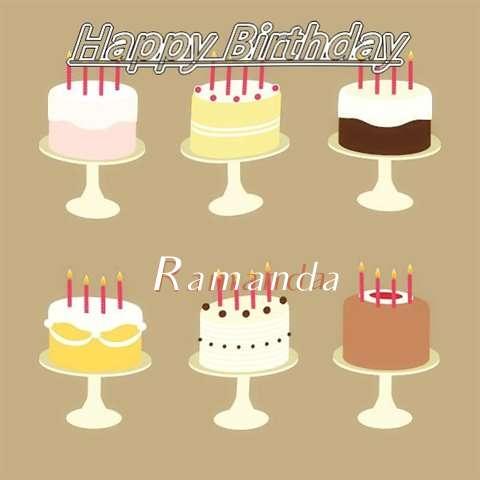 Ramanda Birthday Celebration