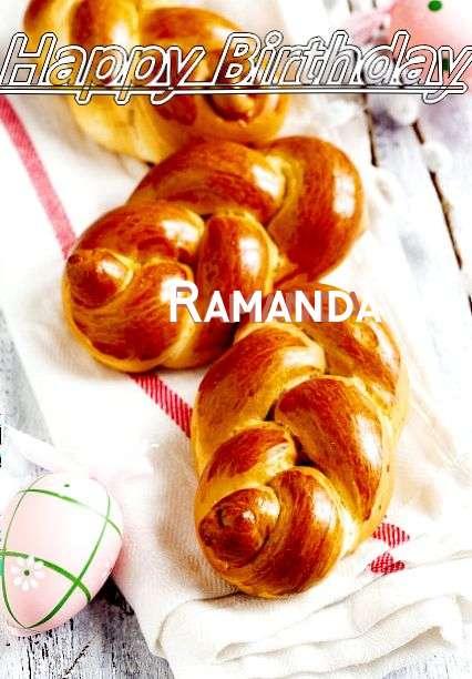 Happy Birthday Wishes for Ramanda