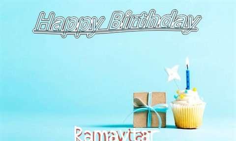 Happy Birthday Cake for Ramavtar