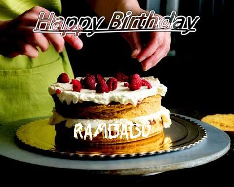 Birthday Wishes with Images of Rambabu