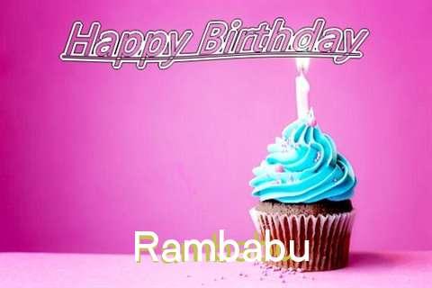 Birthday Images for Rambabu