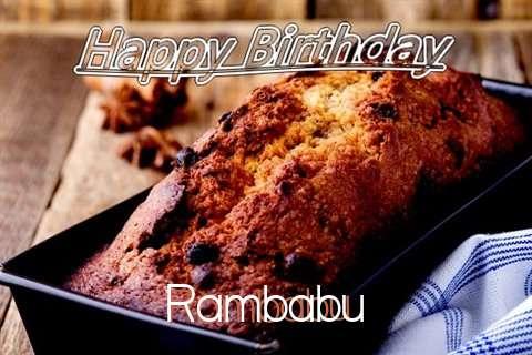 Happy Birthday Wishes for Rambabu