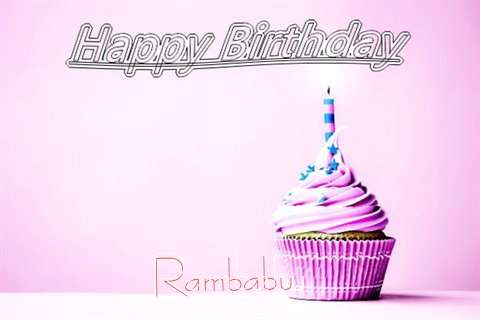 Happy Birthday to You Rambabu
