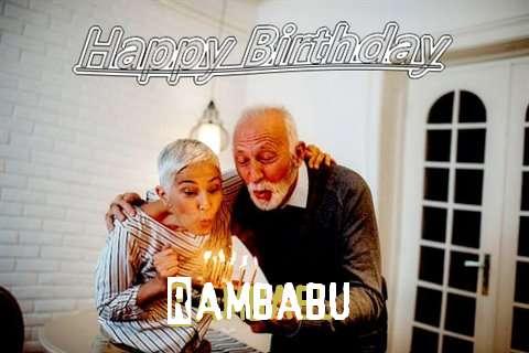 Wish Rambabu