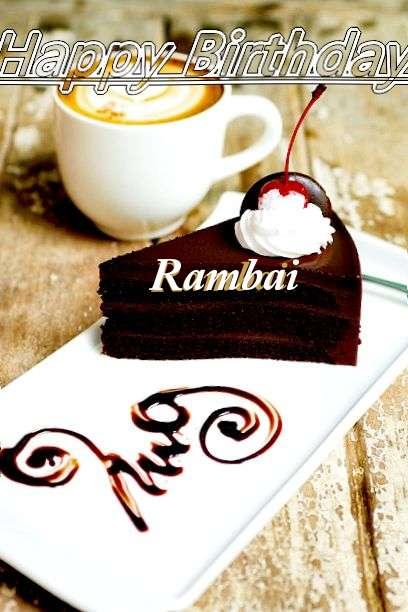 Rambai Birthday Celebration