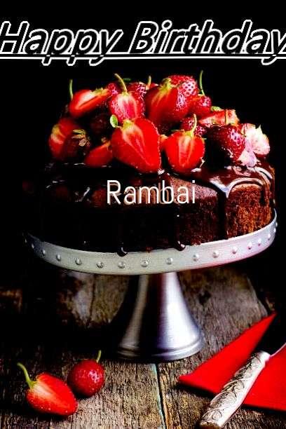 Happy Birthday to You Rambai